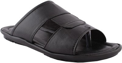 GREENFOOT Men Black Sandals