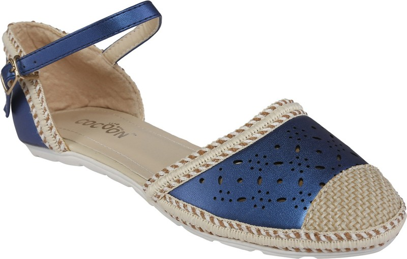 Cocoon Women Blue Flats