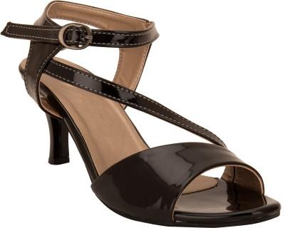 Solester Women Black Heels