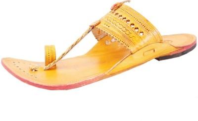 Sushito Men Orange Sandals