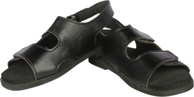 Panlin Black Colorway Men Black Sandals