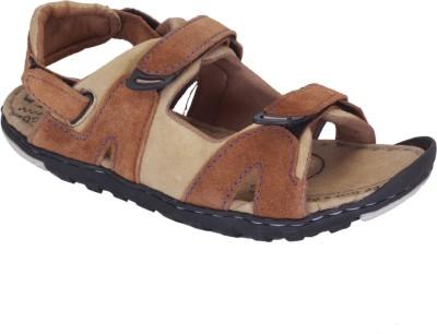 Franklien Men Camel Sandals
