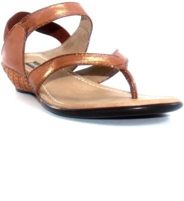 PAWAR Women Brown Heels