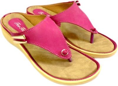 Russo Fashion Designer Women Pink Flats