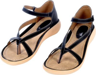 Sir Michele Women Black, Beige Flats