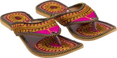 Royal Collection Women Multicolor Flats