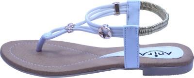 Anira Fashion Women White Flats