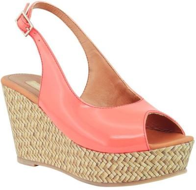 Fabfoot Women Pink Wedges