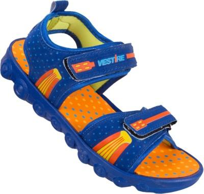 Vestire Boys Blue, Orange Sandals