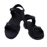 American Cult Men Black/Blue Sandals