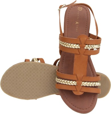 Style Fiesta Women Brown Flats