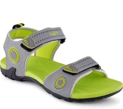Lancer Men Grey, Green Sandals