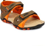 Tennis Men Tan::Orange Sandals