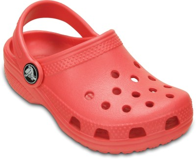 Crocs Baby Boys, Baby Girls Orange Sandals