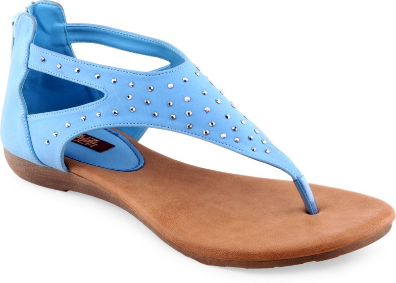 Shuz Touch Women Blue Flats
