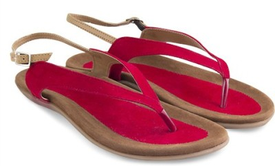 Elite15flats Women Red Flats