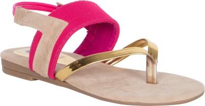 MDR Women Pink Flats