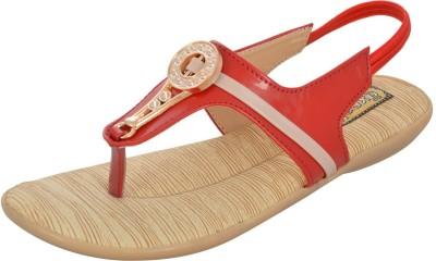 Axcellence Women Red Flats