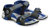 Corpus Men Grey::Blue Sandals