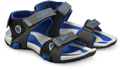 Corpus Men Grey, Blue Sandals