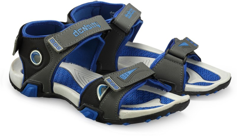 Corpus Men Grey::Blue Sandals
