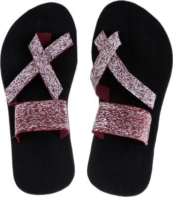 Tripssy Men Brown, White Sandals