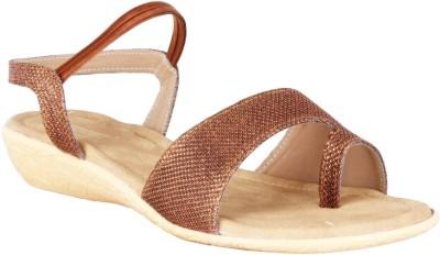 Legsway Women Brown Flats