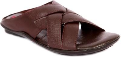 IShoes K-702-BROWN Men Brown Sandals