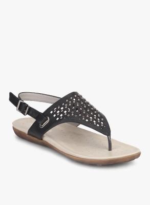Addons Women Black Flats