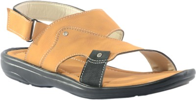 Fucasso Men Tan Sandals