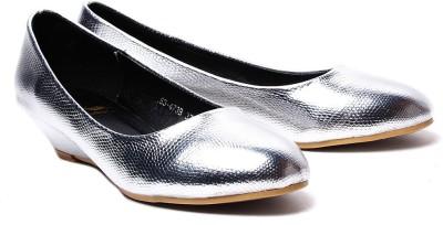 Klaur Melbourne 163-473b-Silver Women Silver Wedges