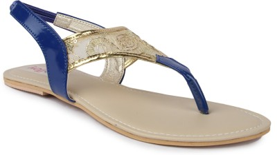 Kajjalli Women Blue Flats