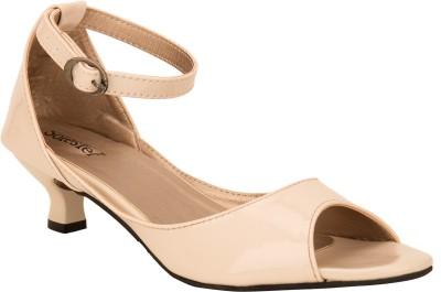 Solester Women Beige Heels