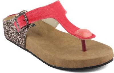 Anupamaa Women Beige, Pink Flats