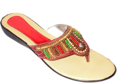 Angeela Women Maroon Flats