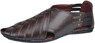Mocas Men Brown Sandals