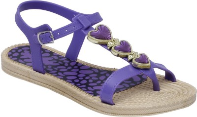 Fab Fashion Women Purple Flats