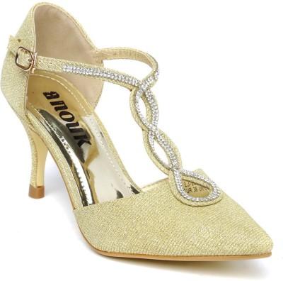 Anouk Women Gold Heels