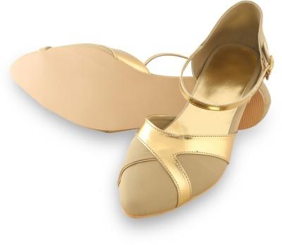 Lee Poise Women Beige, Gold Flats