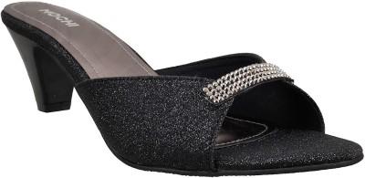 Mochi Women Black Heels