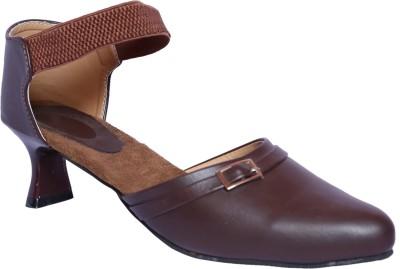 Hannah Traders Women Brown Heels