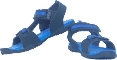Iwana By Goldstar Men, Boys Black, Blue Sandals
