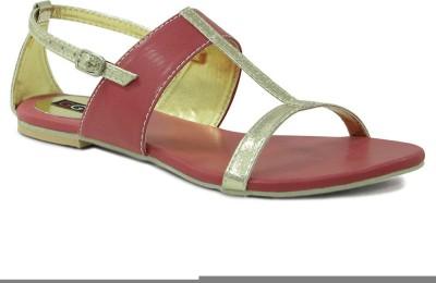 Get Glamr Women Red Flats