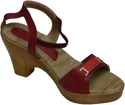 BellaToes Women Red Heels