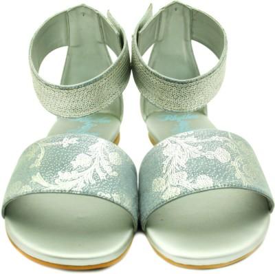 Rhythm & Shoes Women Blue, Silver Flats