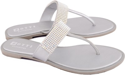 Zotti Zazzy Women Silver Flats