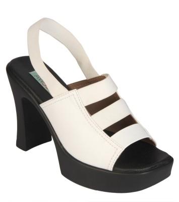 Awssm Women White Heels