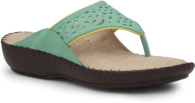La Briza Women Green Wedges
