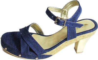 El Cisne Women Blue Heels