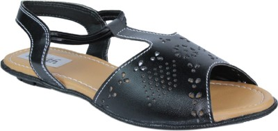 Faith Women Black Flats